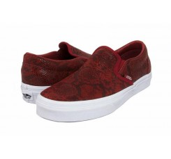 Slip-on serpiente roja